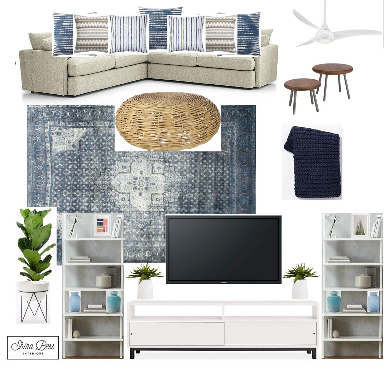 Delray Family Room - Option 2