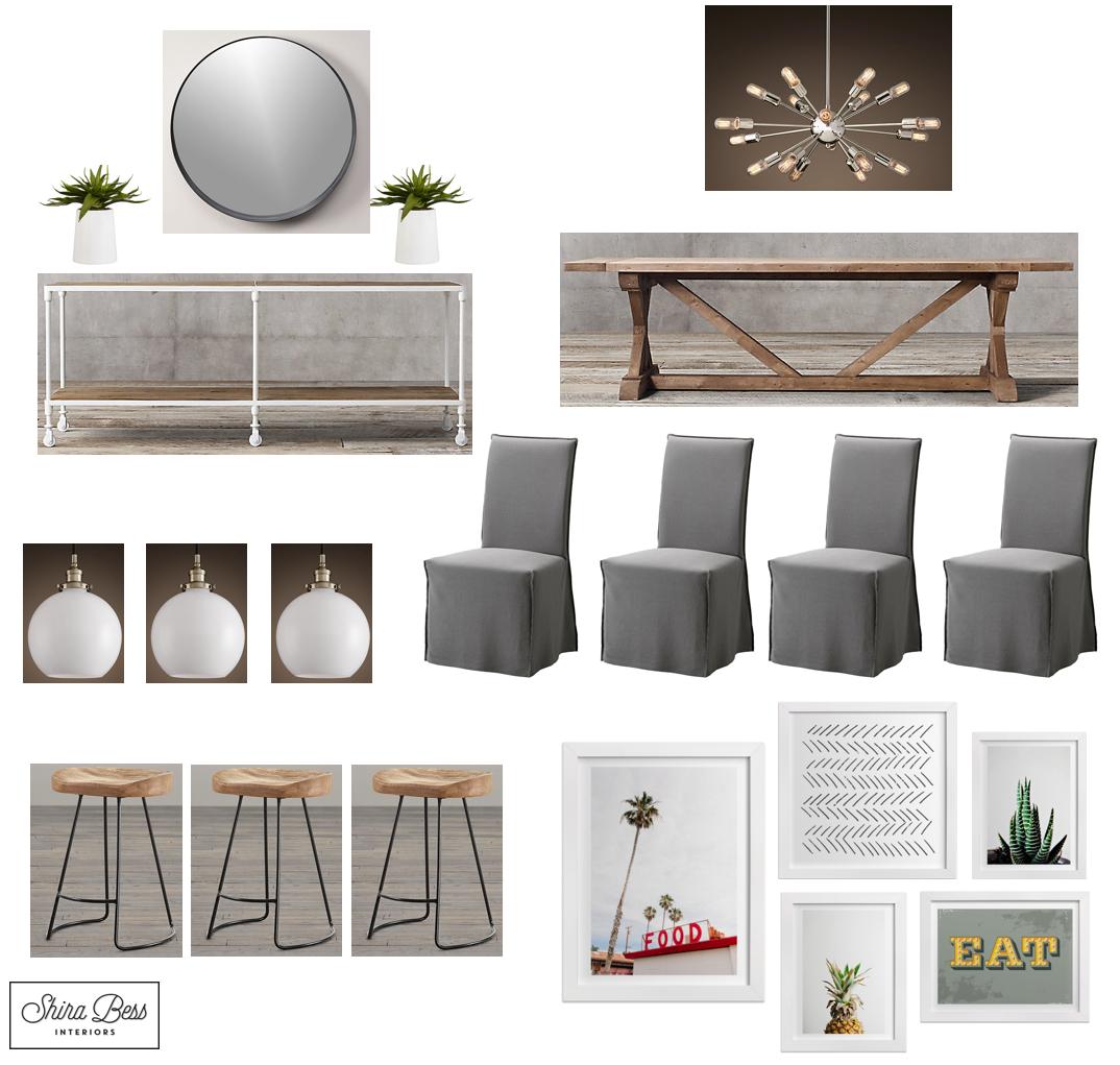 Delray Dining Room - Option 2