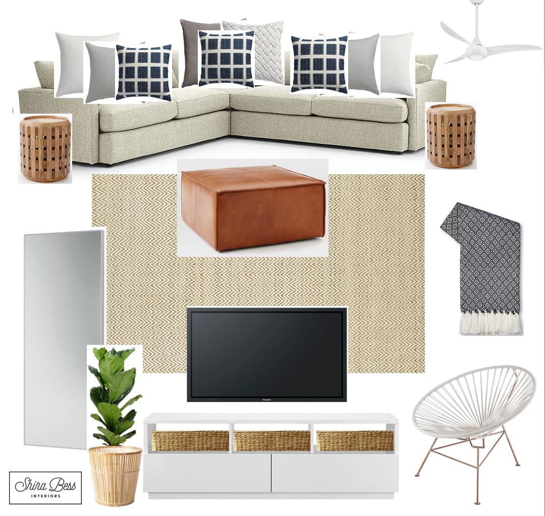 Delray Family Room - Option 3