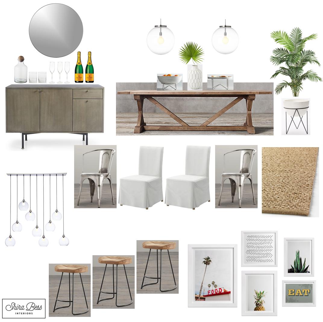 Delray Dining Room - Final Design