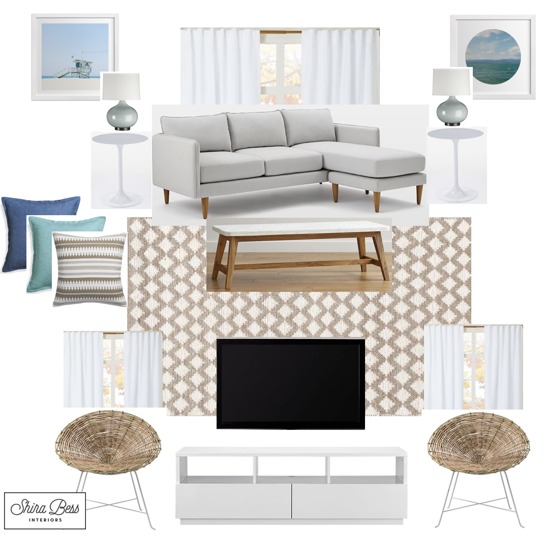 South FL Living Room - Option 1