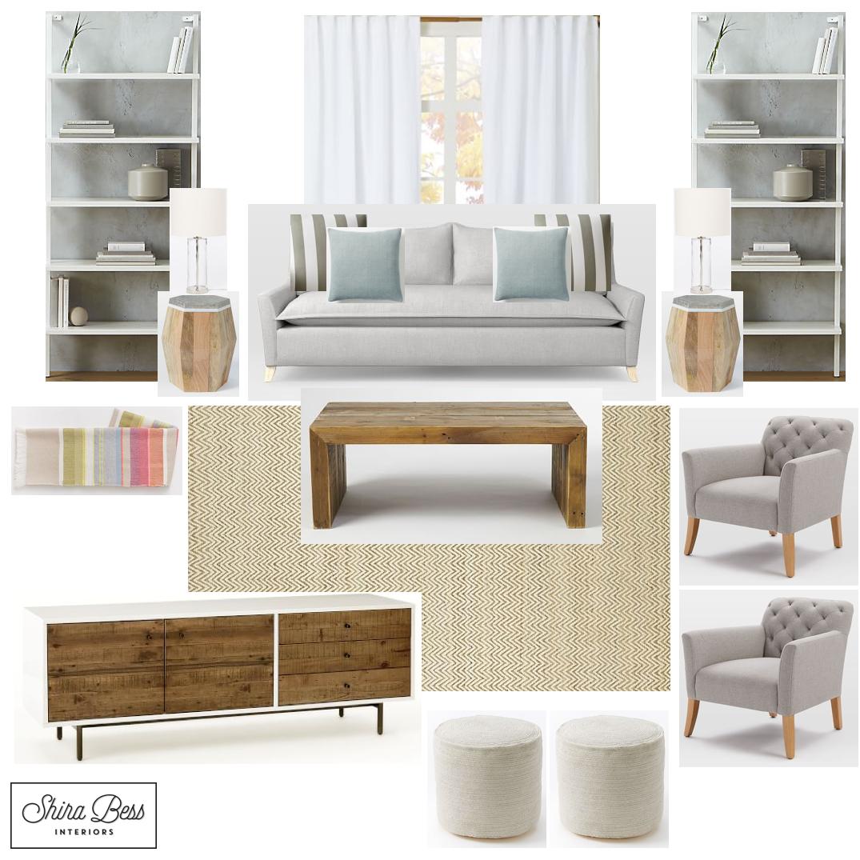 South FL Living Room - Option 2