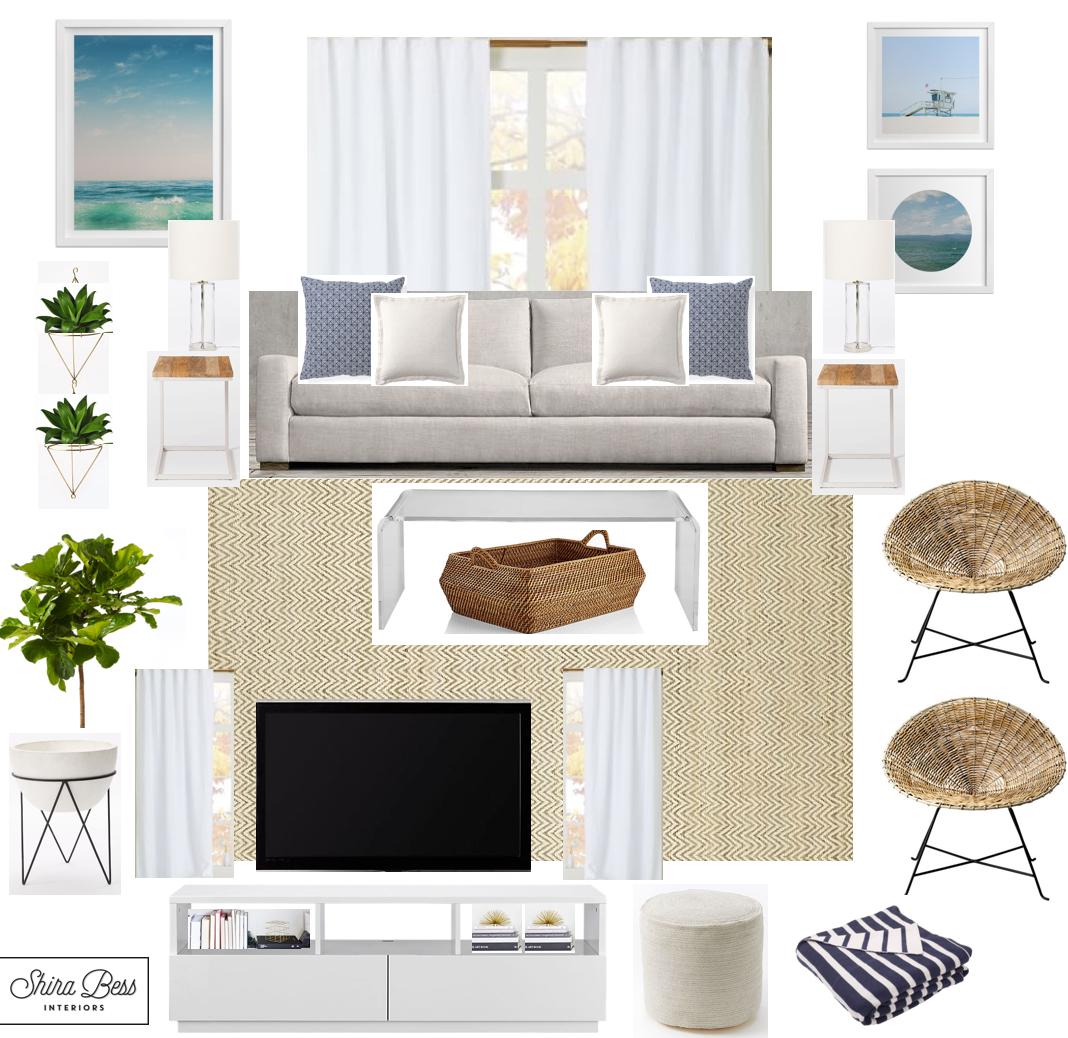 South FL Living Room - Final Design