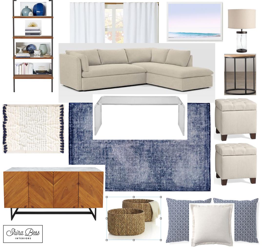 South FL Living Room - Option 3