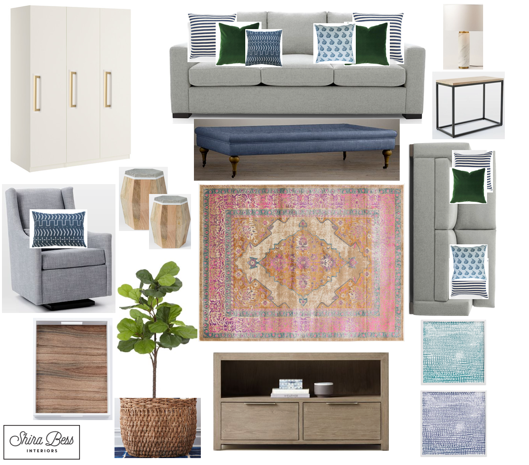 NYC Family Room - Final Design