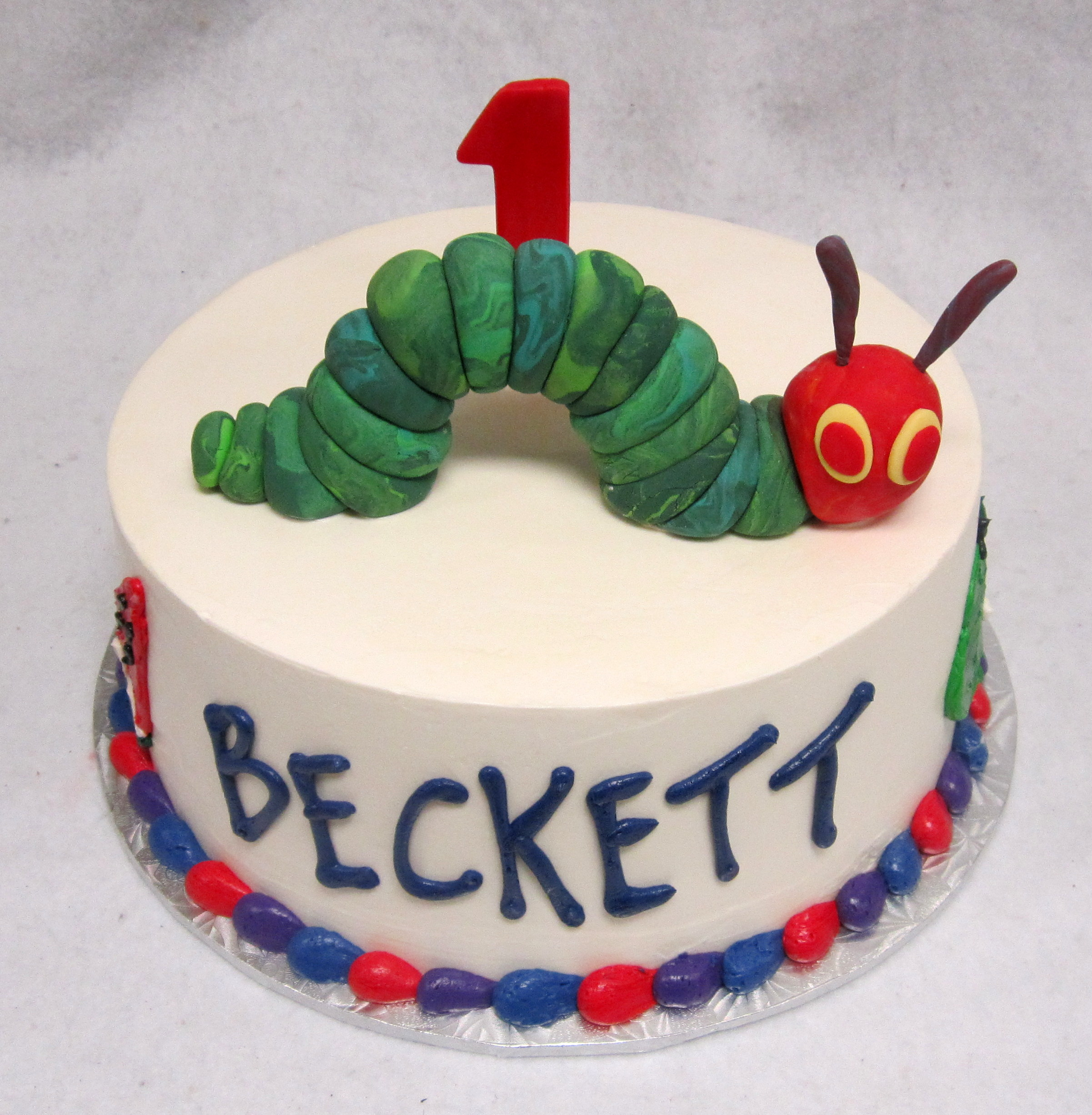hungry caterpillar smash cake.jpg