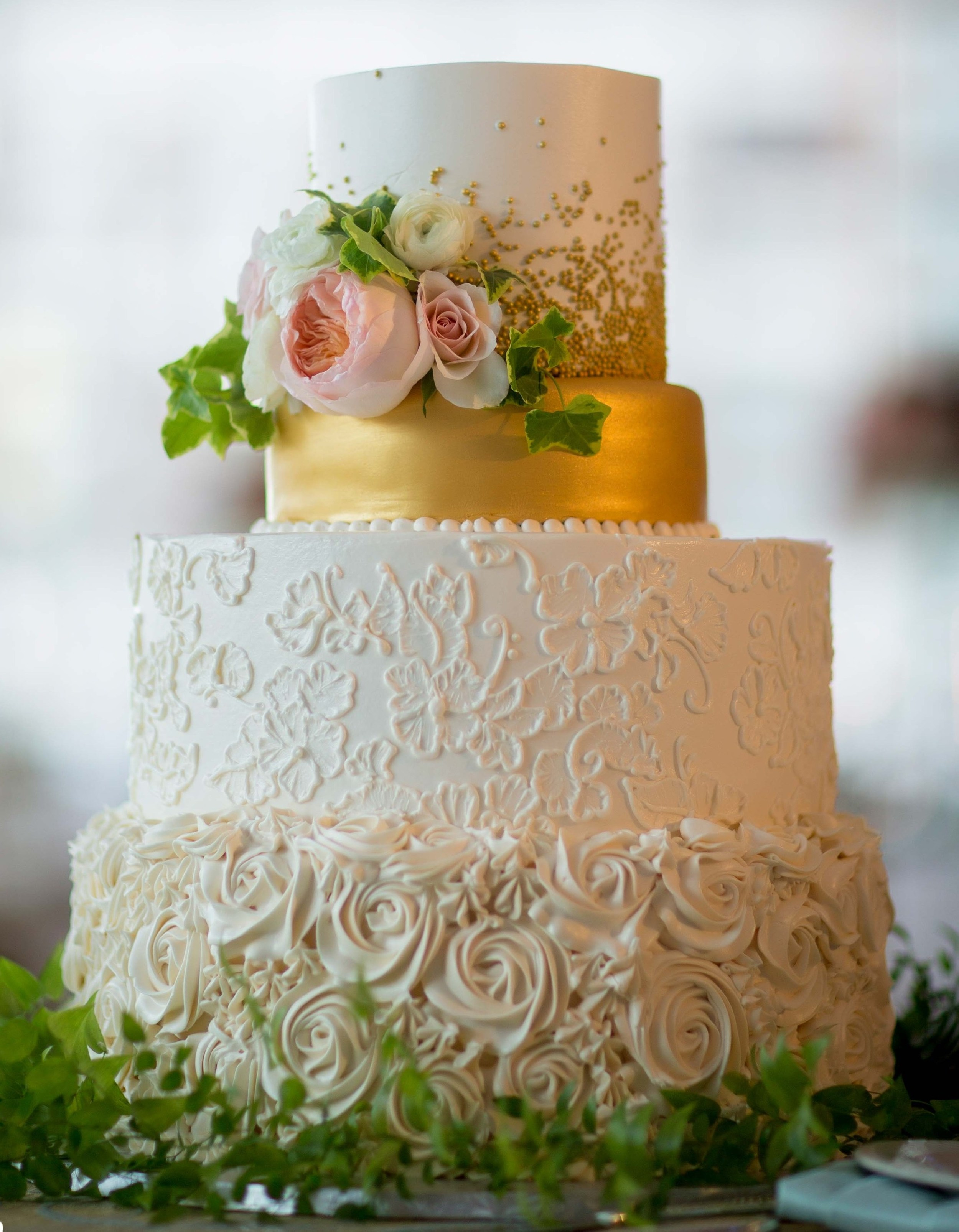 gold dragee wedding cake.jpg
