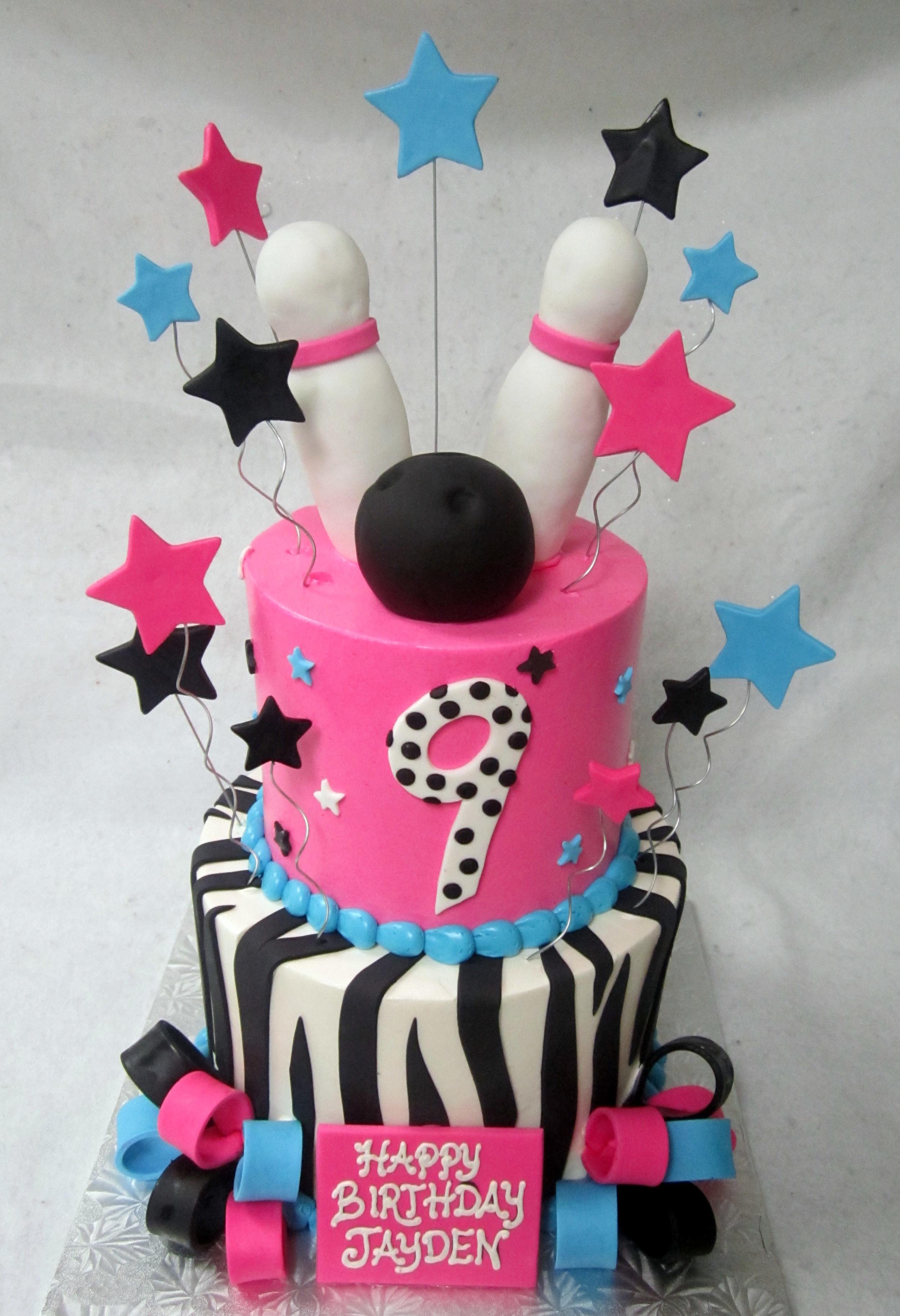 bowling stars zebra pink aqua black.JPG