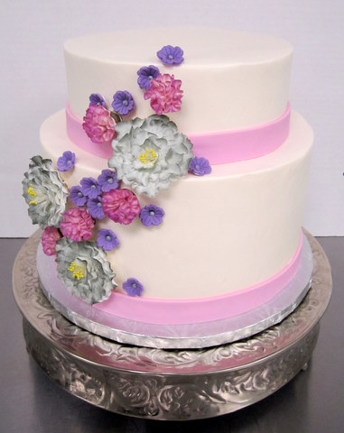 old fashioned flowers in purples.JPG