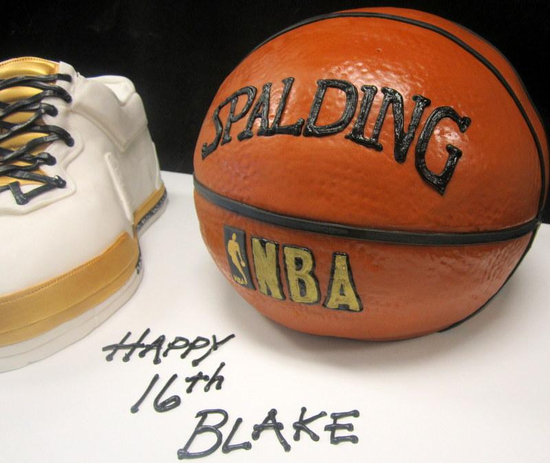 gold high top and basketball.JPG