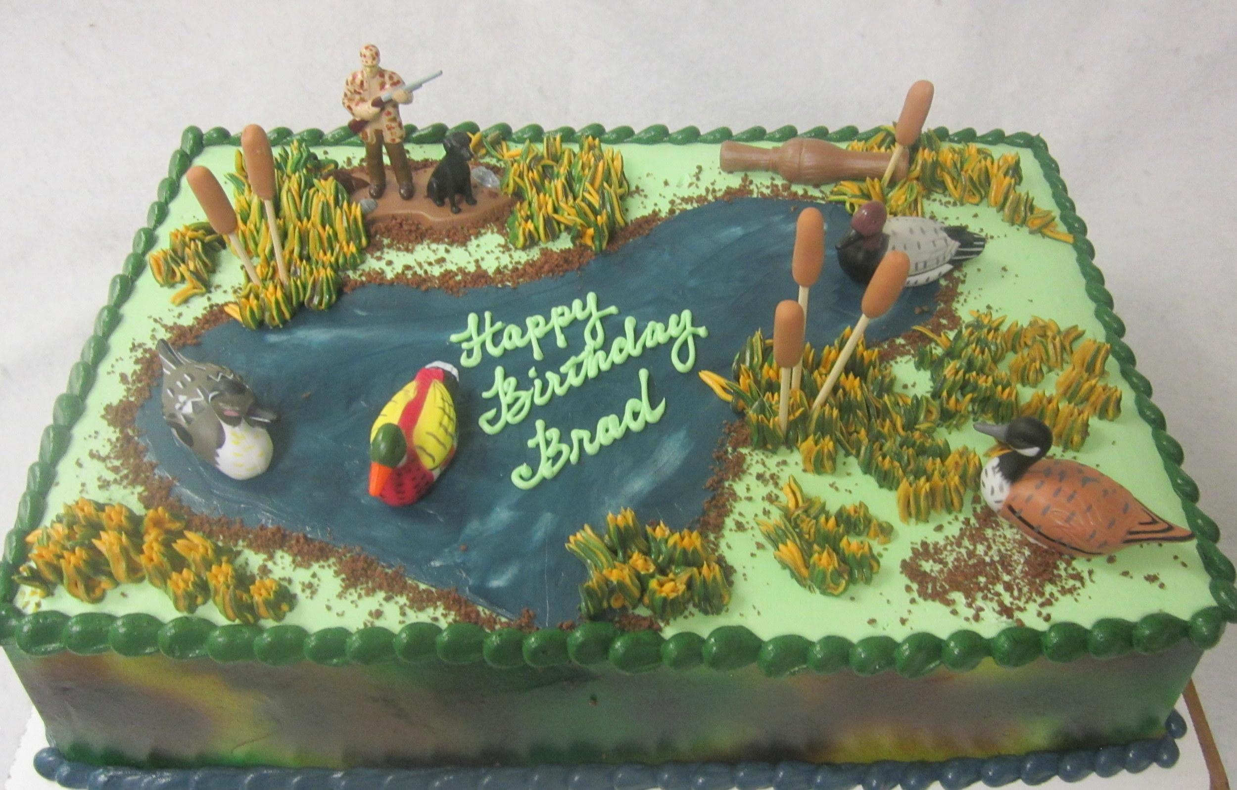 duck pond hunting cake.JPG