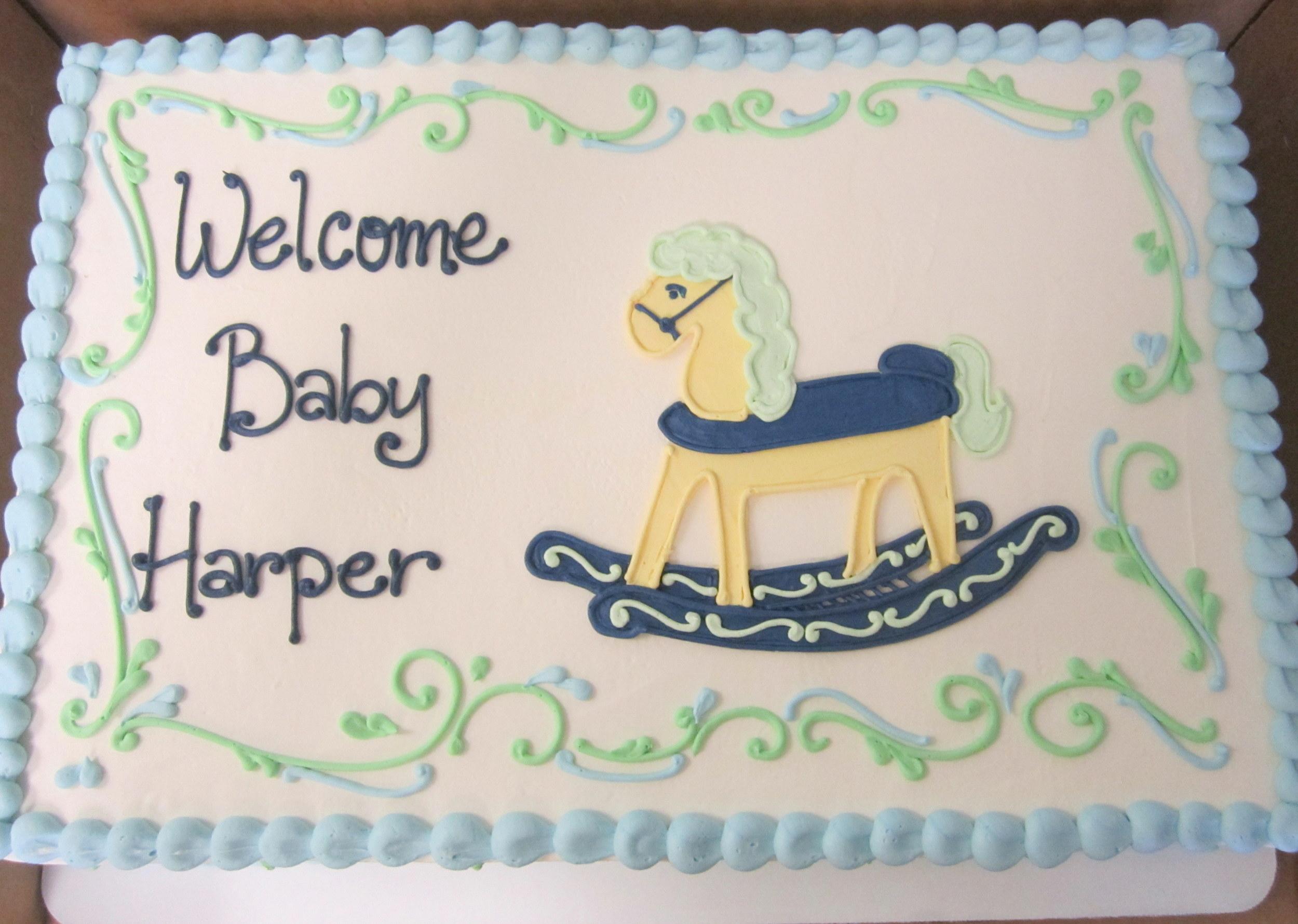 baby shower rocking horse light blue cake.jpg