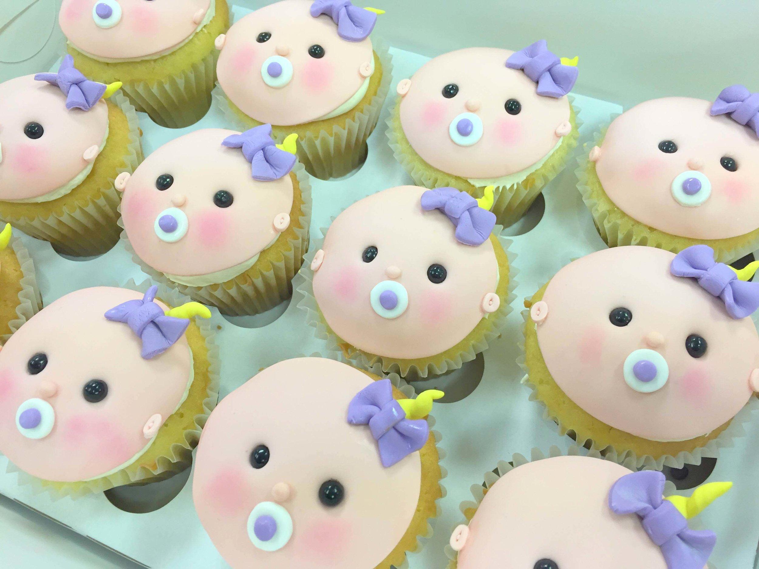 cupcakes-baby faces fondant.JPG