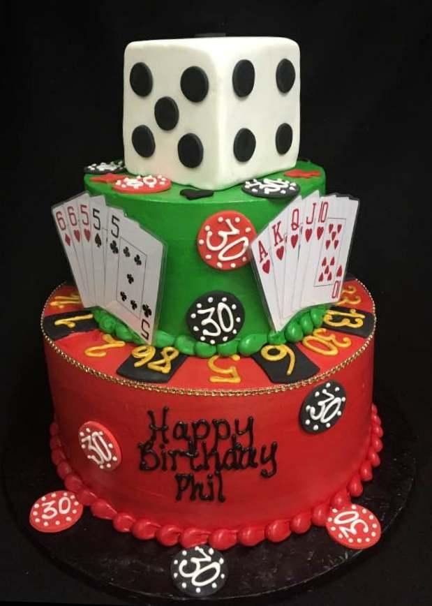 poker red and green cake.jpg