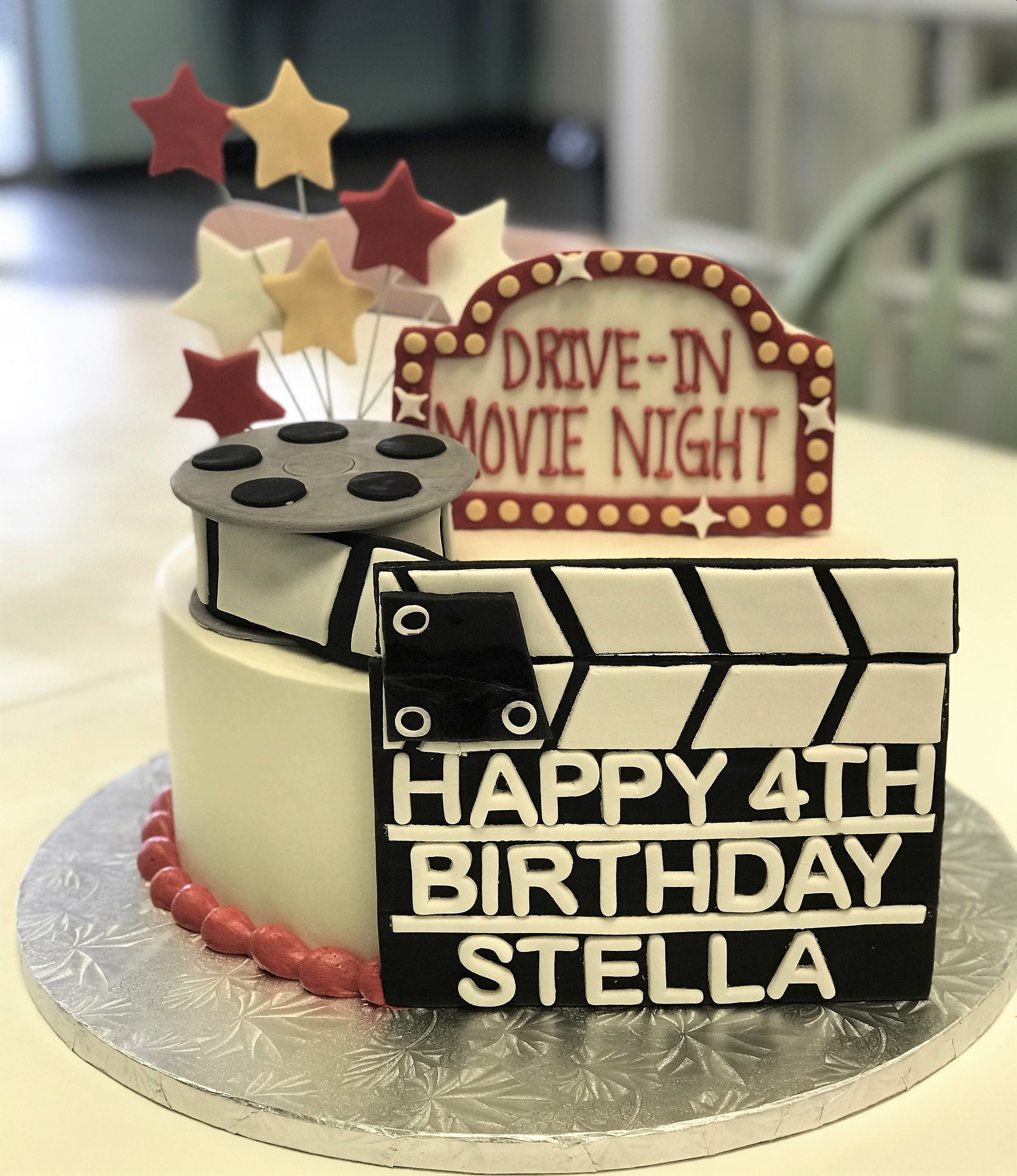 movie reel clapboard cake.jpg
