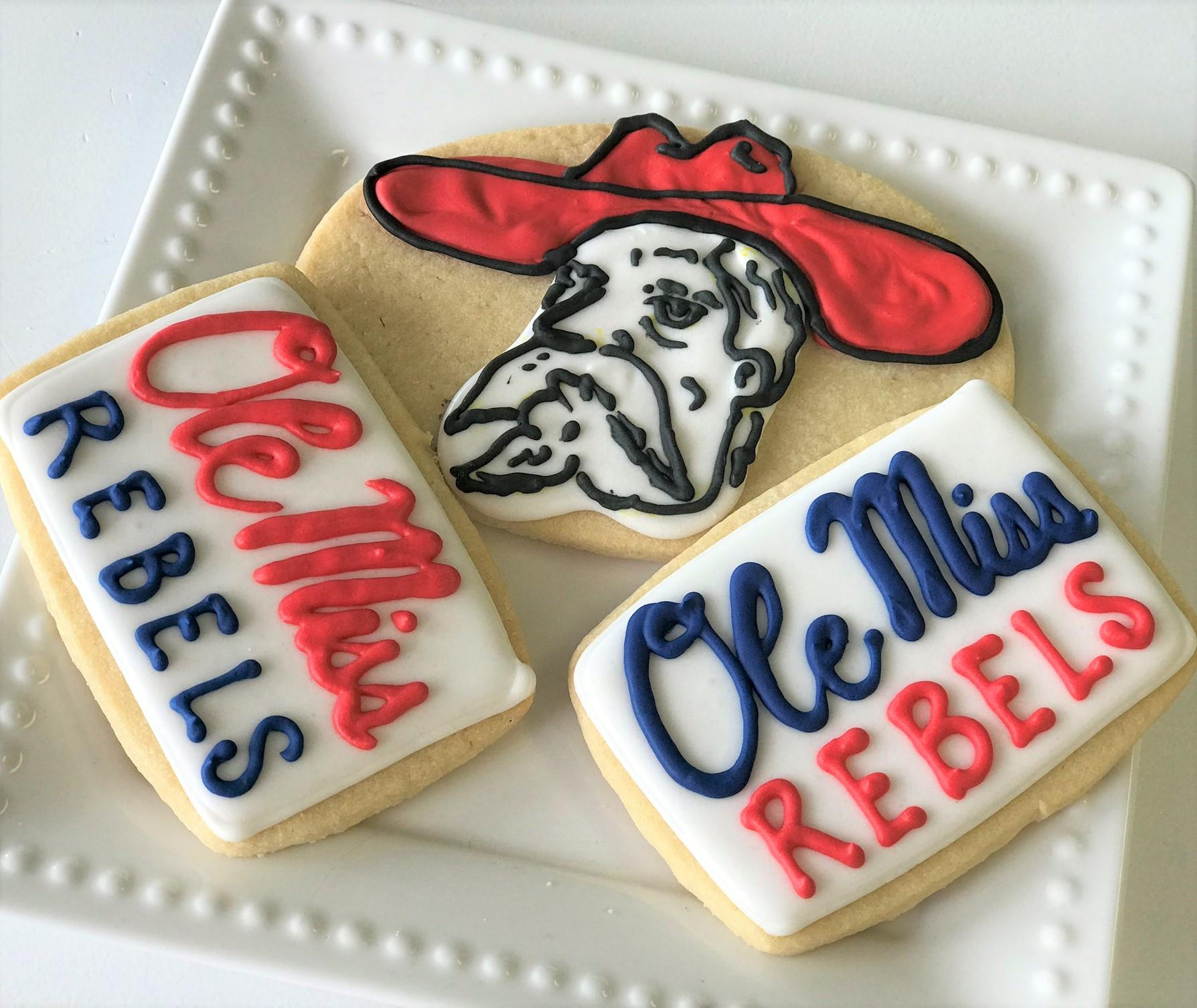 ole miss rebel cookies.jpeg