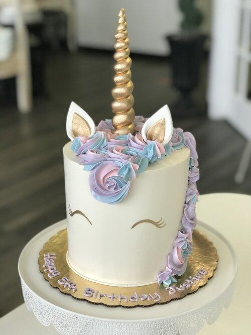 Girls Birthday Celebrating Life Cake Boutique