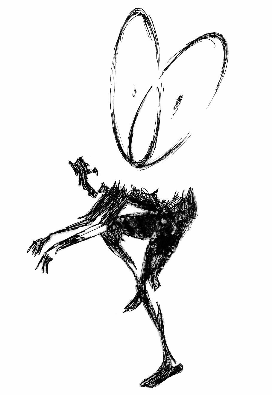 Nick's original drawing.