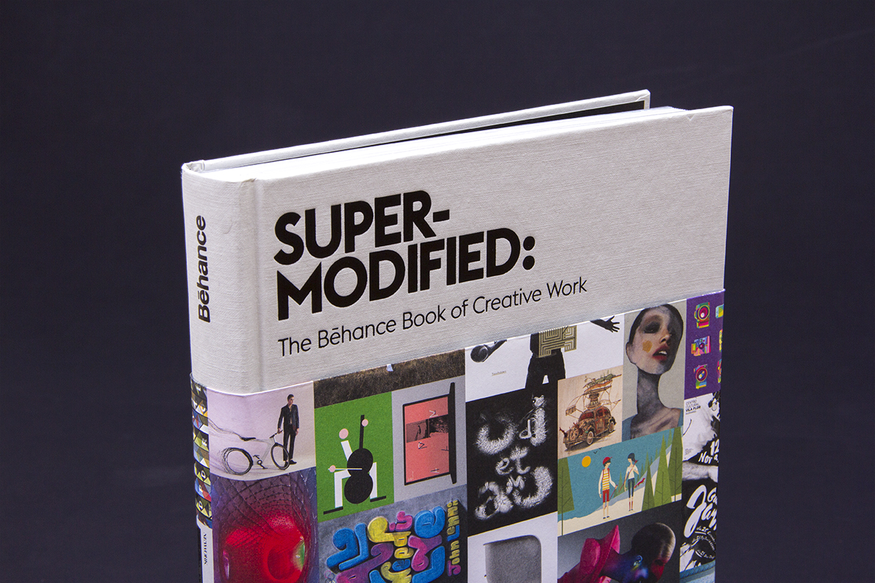 SuperModified Book Cover Design