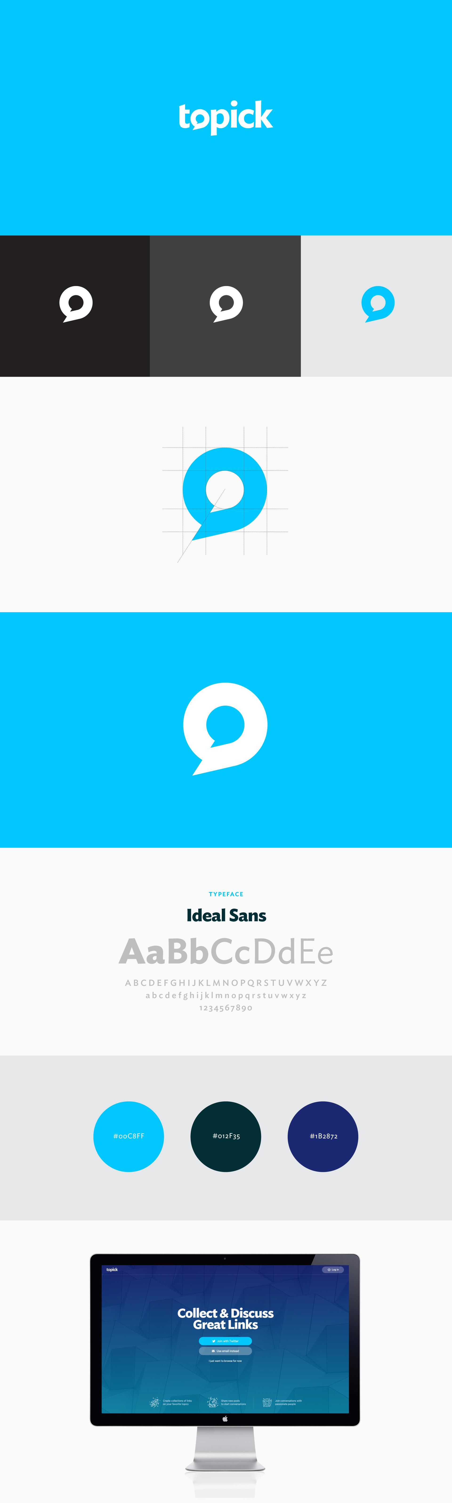 Raewyn Brandon Graphic Design Tauranga - Topick Brand Logo Design