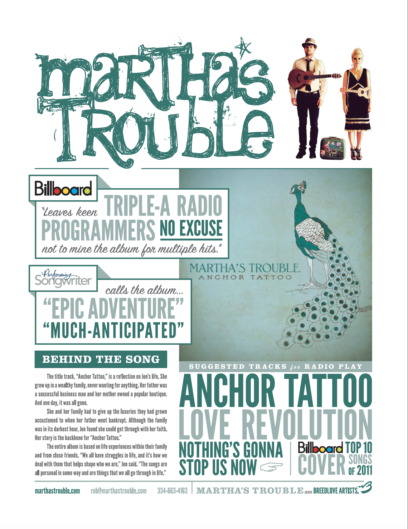 Anchor Tattoo One Sheet