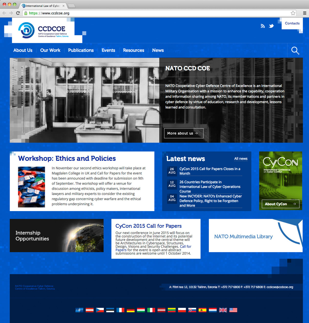 NATO Cooperative Cyber Defence Centre of Excellence — Velvet
