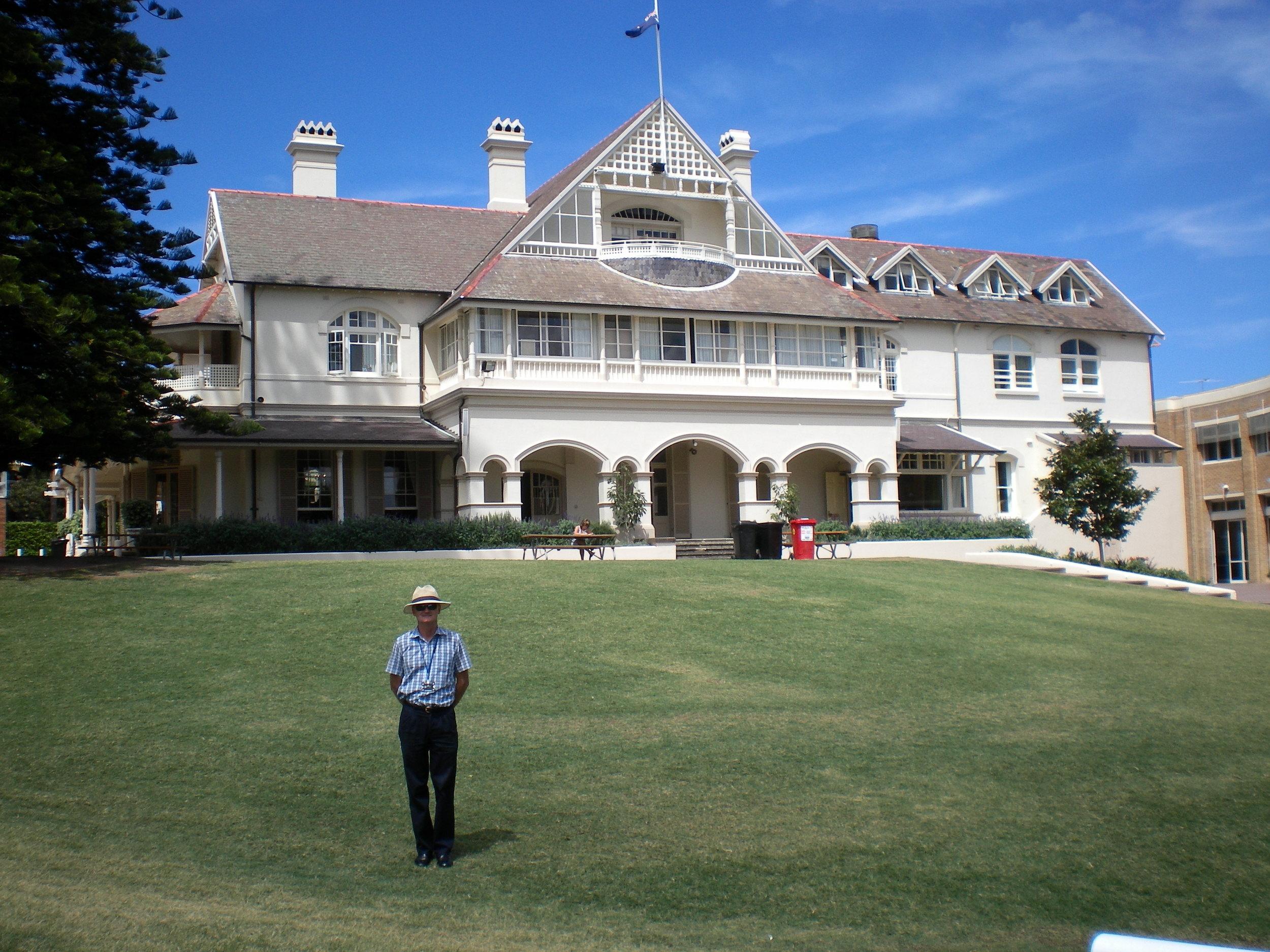 The lovely Kambala school.