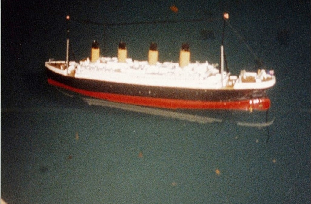 Titanic-model