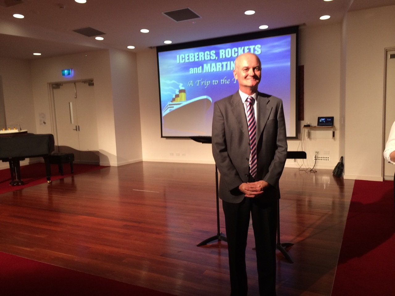 'Icebergs, Rockets and Martinis' - my talk at Kambala as part of the 2015 Spring Lecture Series