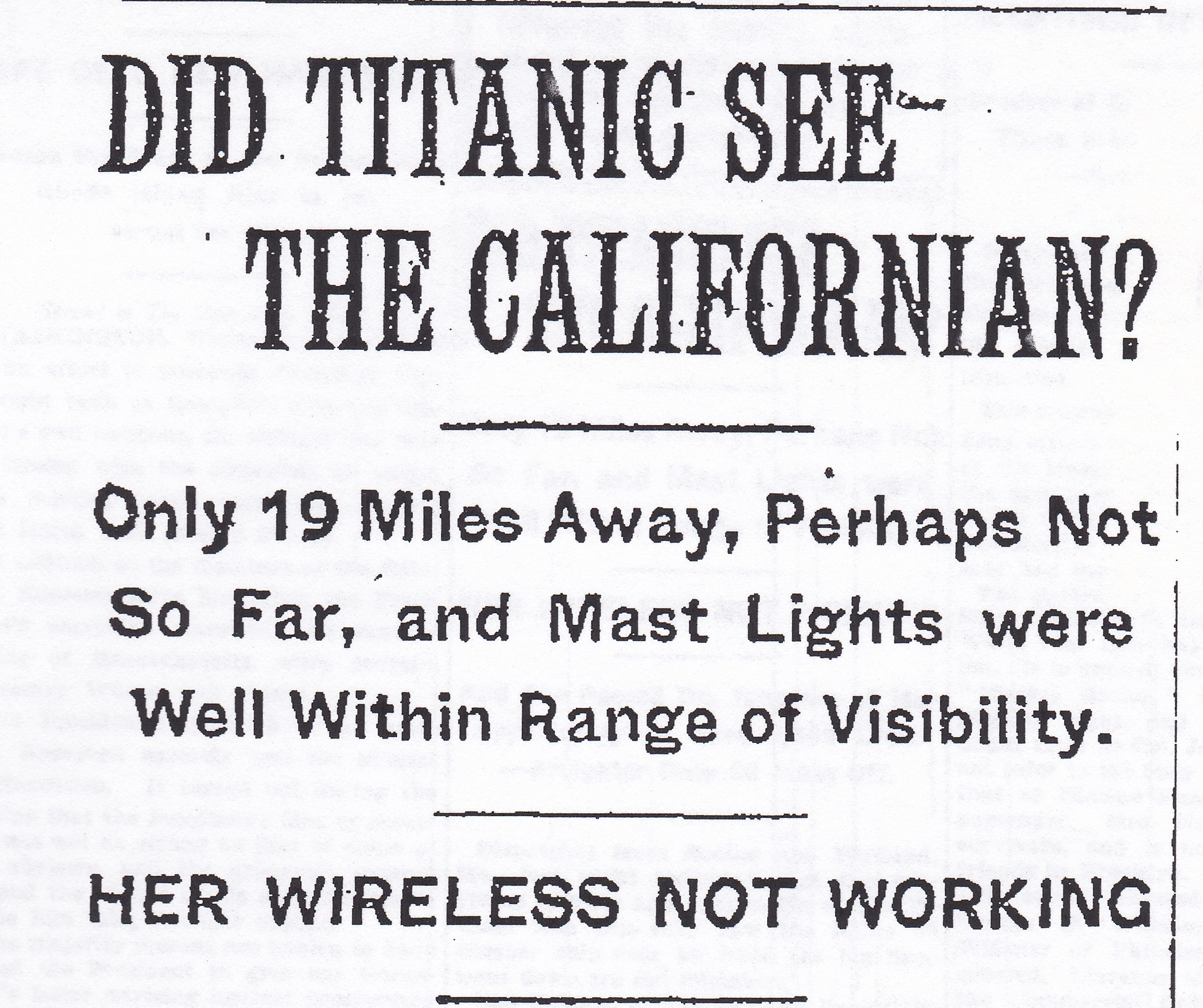 Did-the-Titanic-see-Californian