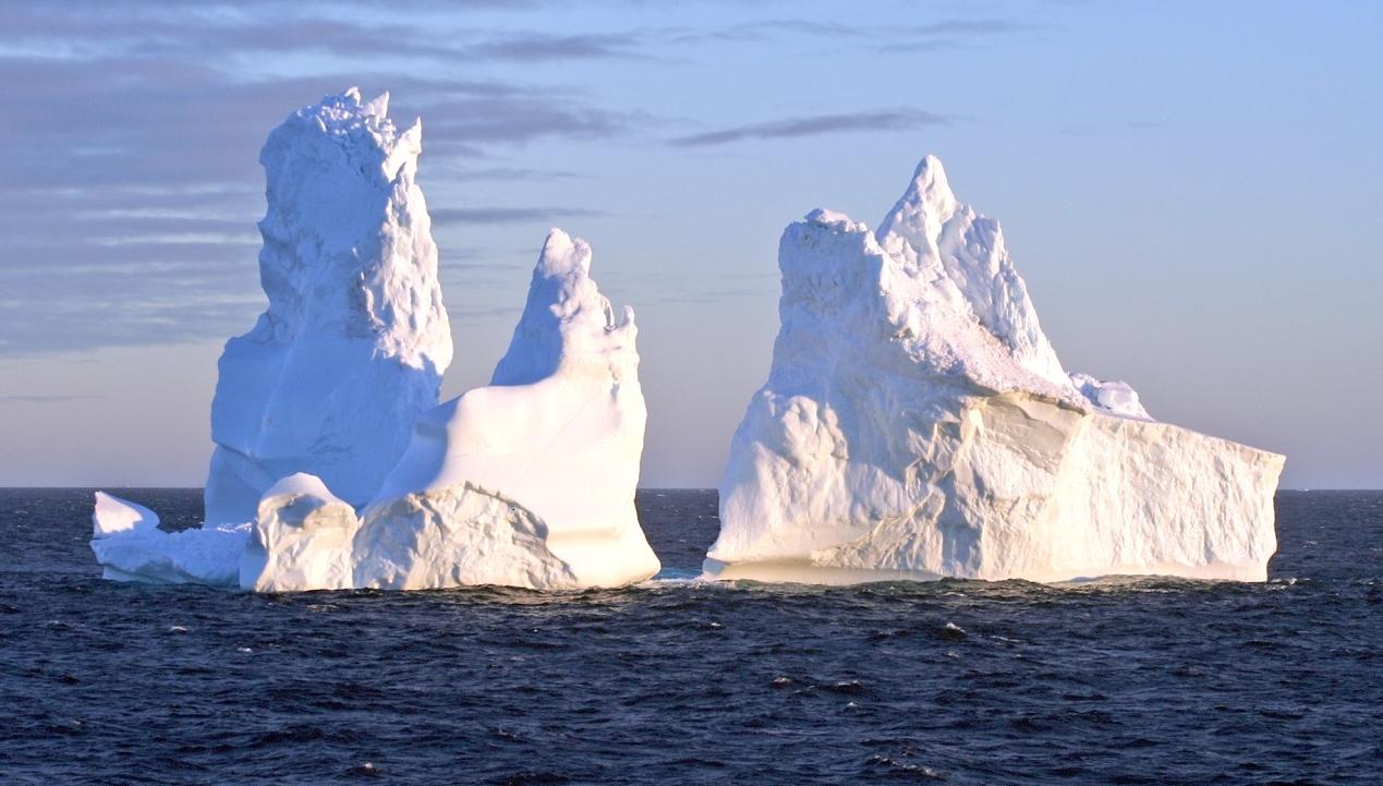 Californian-icebergs
