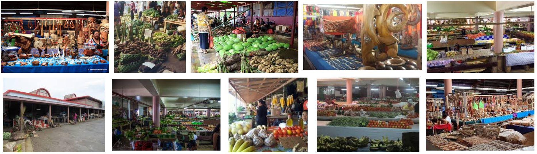 The Talamahu Markets in Nuku'alofa.