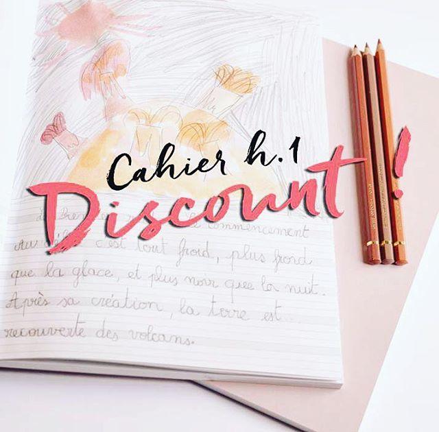 Avant réimpression des cahiers + un petit nouveau ✨, nous soldons quelques cahiers qui présentent une légère imperfection sur la couverture (parfois à peine visible😉). Rendez-vous sur le site !