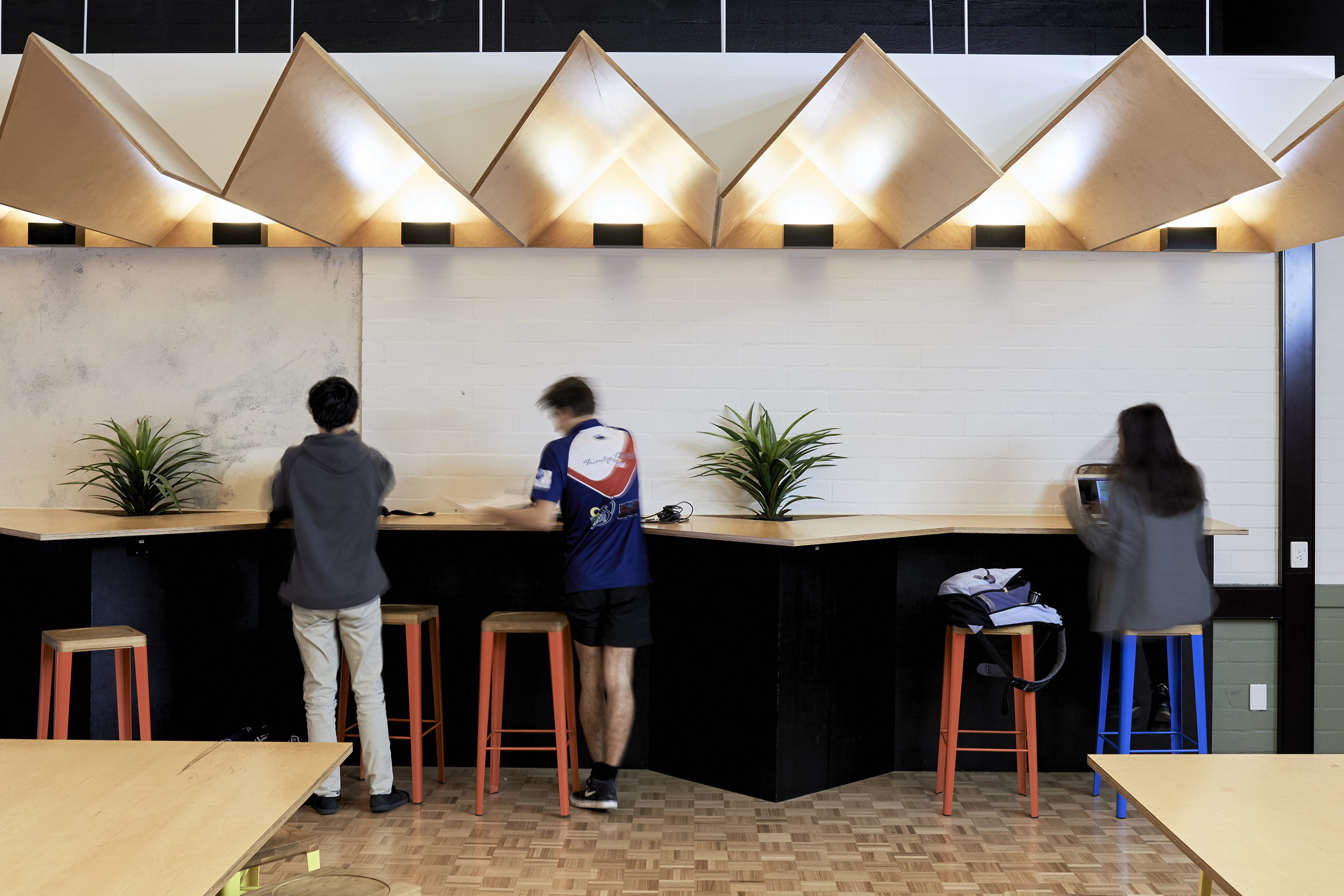 MONASH UNIVERSITY TEN NORTH STUDENT LOUNGE
