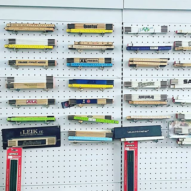 Useful folding wooden rulers on the wall. Popular tool for DIY lovers. #yourlink2asia #manufacturing #production #sourcing #productdevelopment #productquality #qualitymatters #qualityassurance #productionline #printmaking #qctrip #qualityinspection