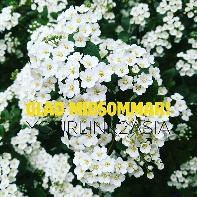 Glad midsommar önskar Yourlink2asia.