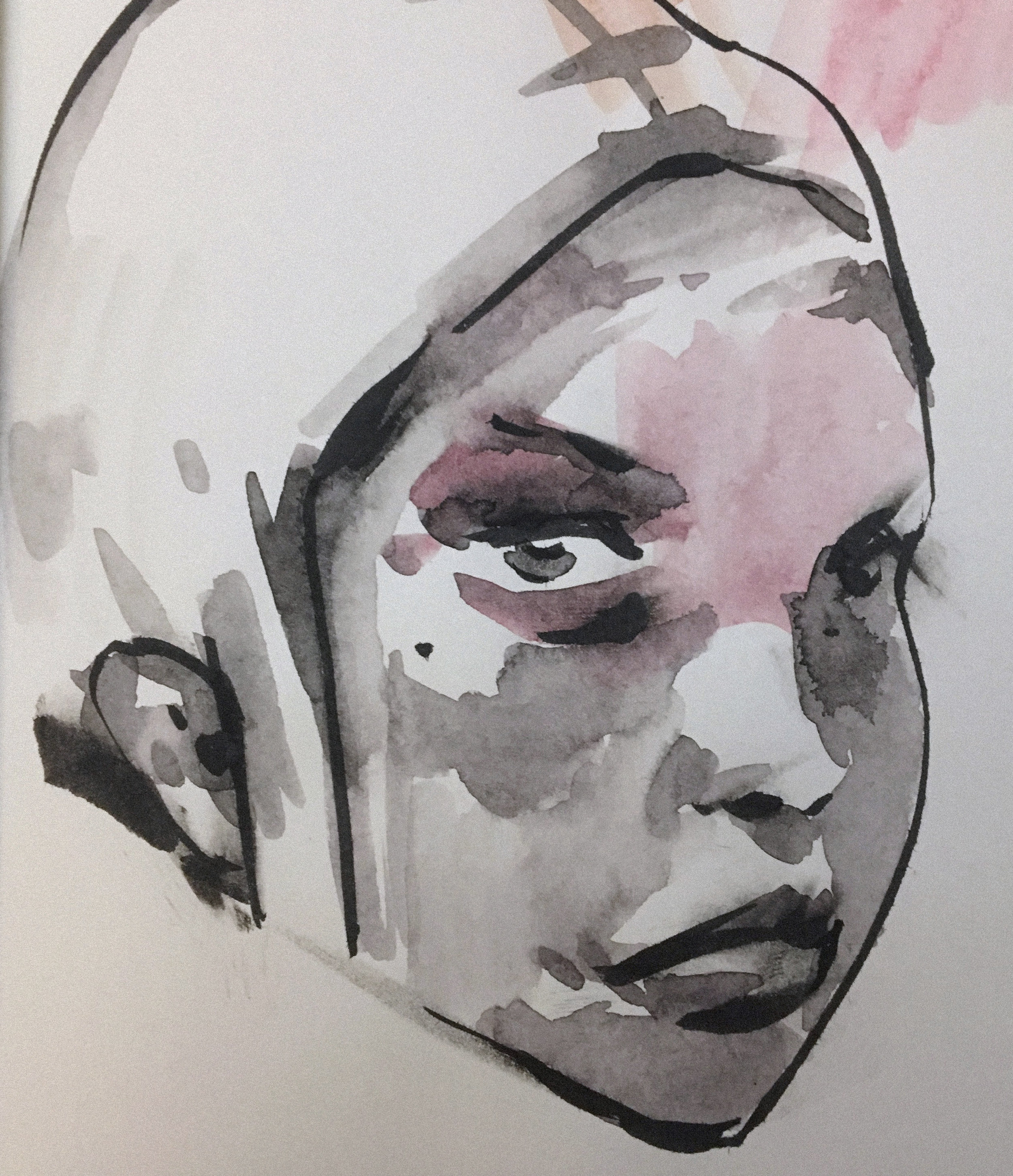 sketch ink and watercolor (2018)
