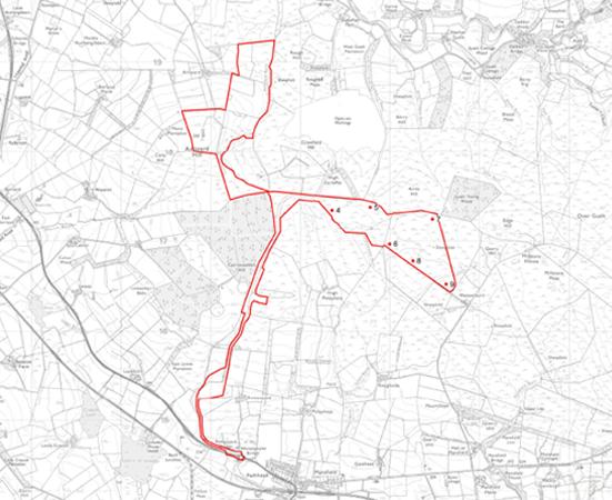 Garleffan Planning Application Boundary