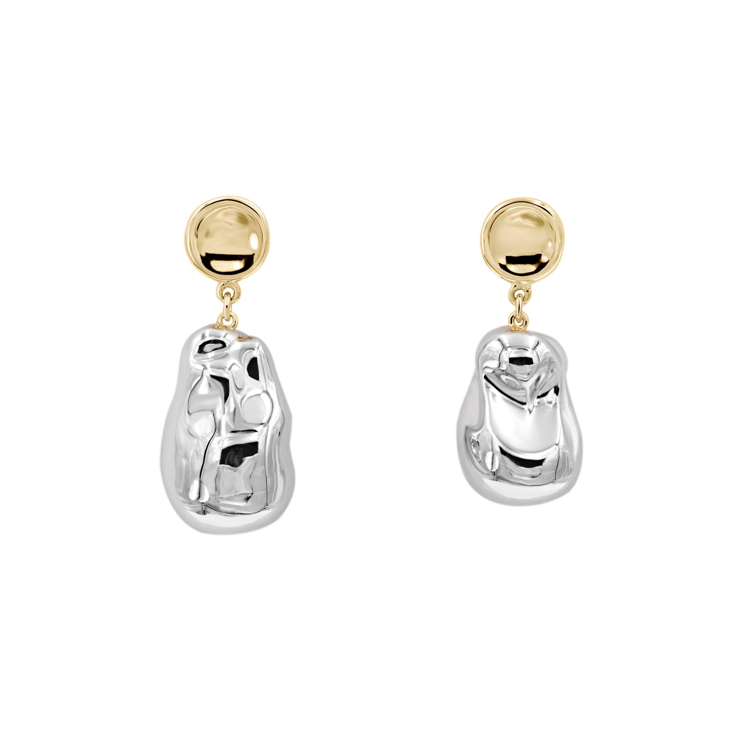 Medium Silver Pearl x Small TP Earrings 1.jpg