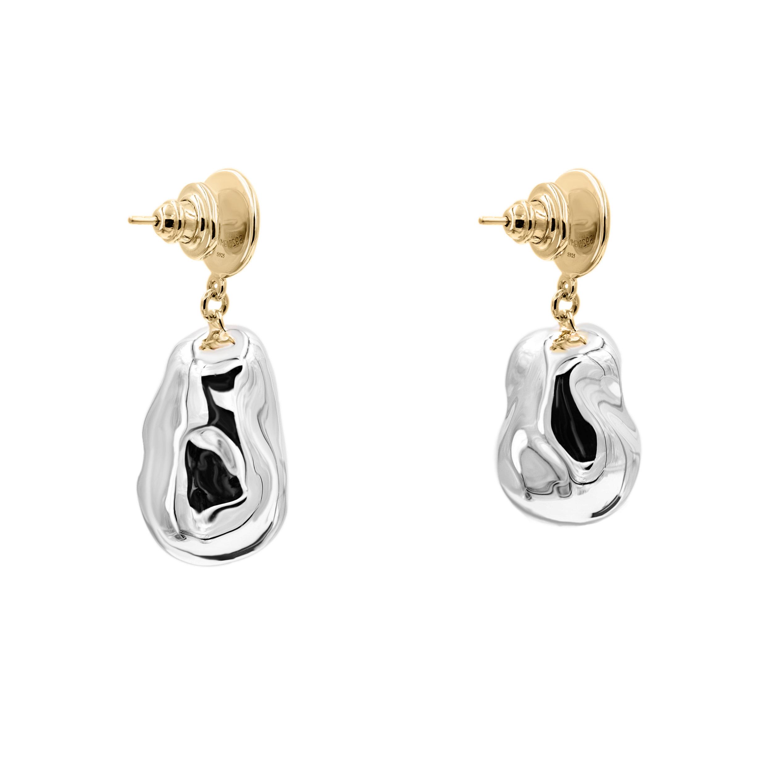 Medium Silver Pearl x Small TP Earrings 2.jpg