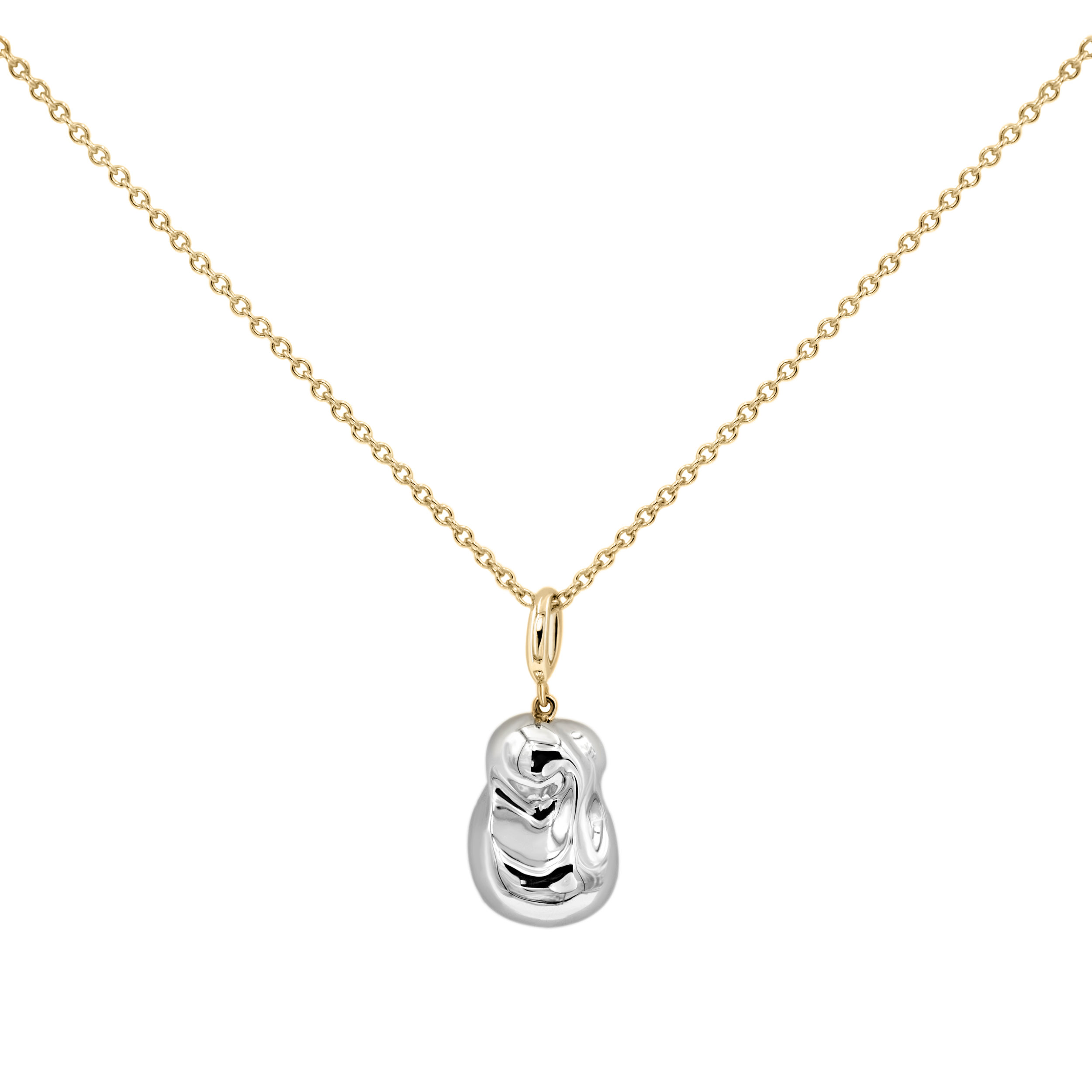 Small Silver  Pearl Pendant Necklace 1.jpg