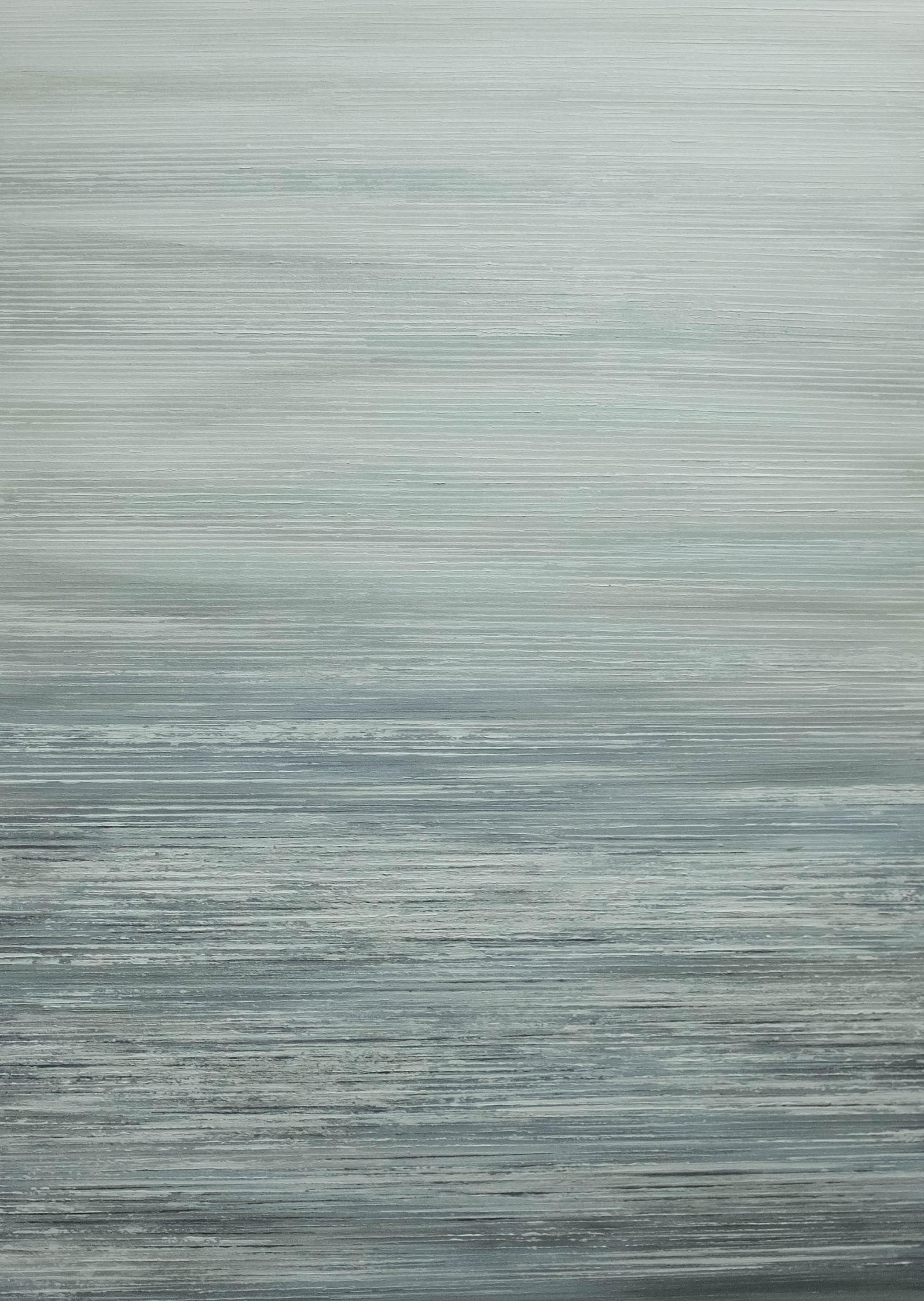 Seascape - V - Ivory/Grey - 2015