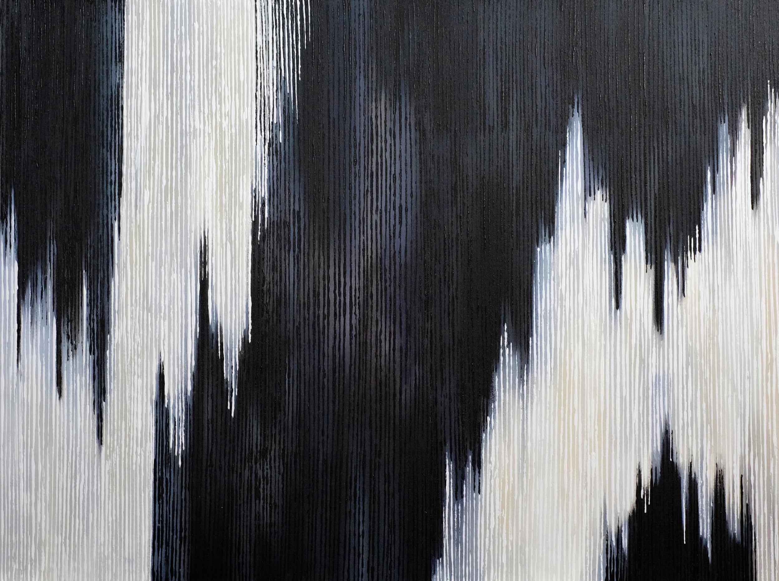 Linescape III - Black/White -2014