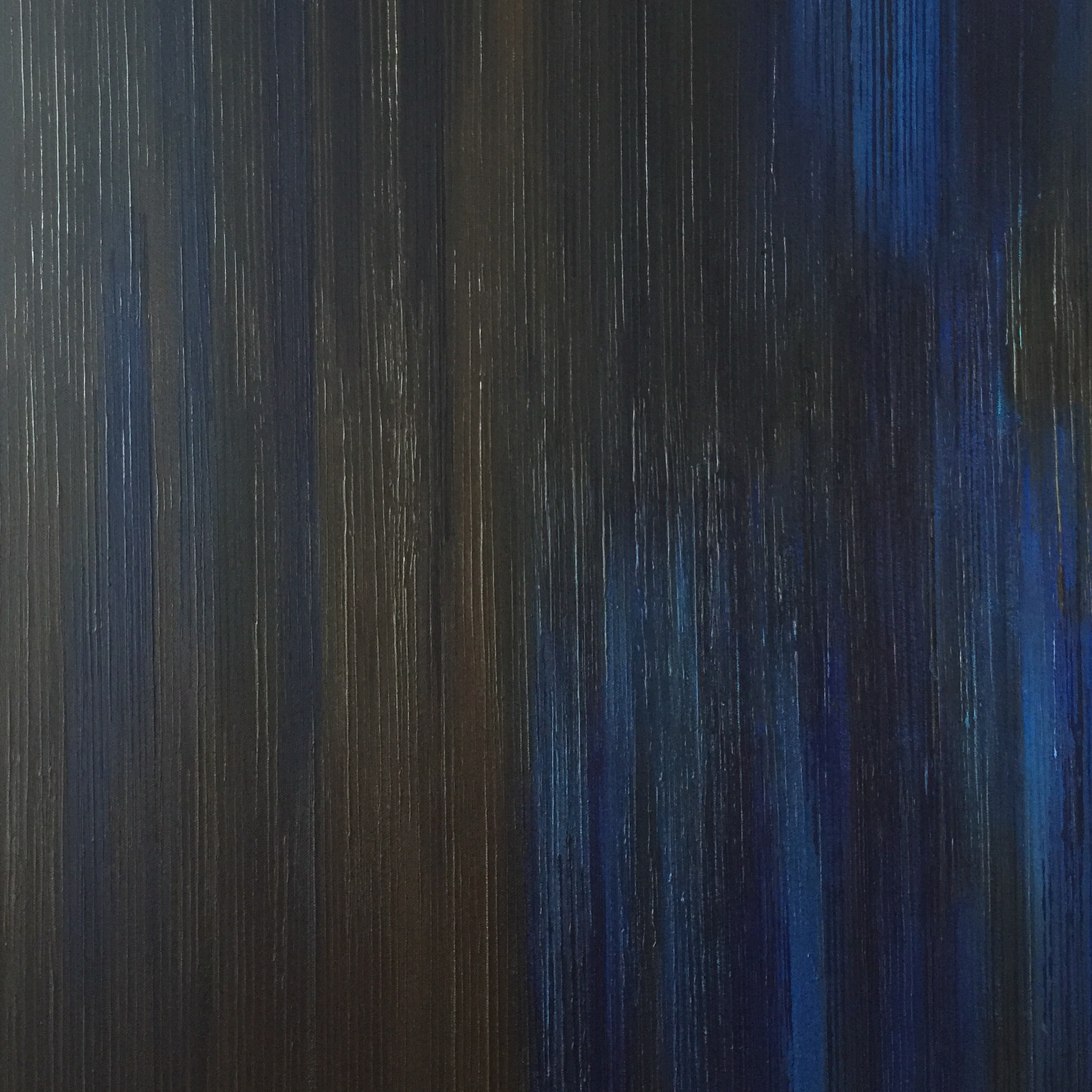 Emergence I - Blue/Brown - 2015