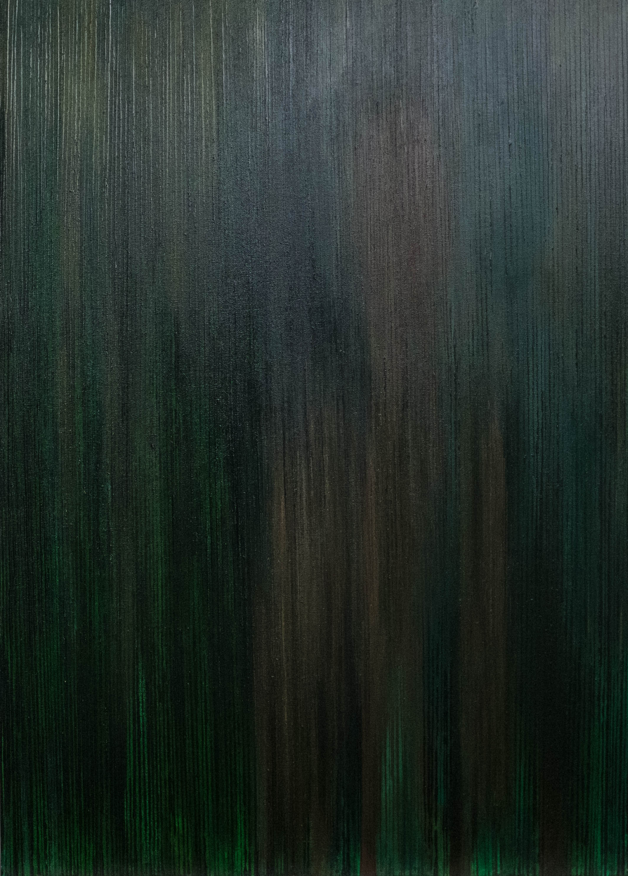 Emergence II - Green/Brown -2015