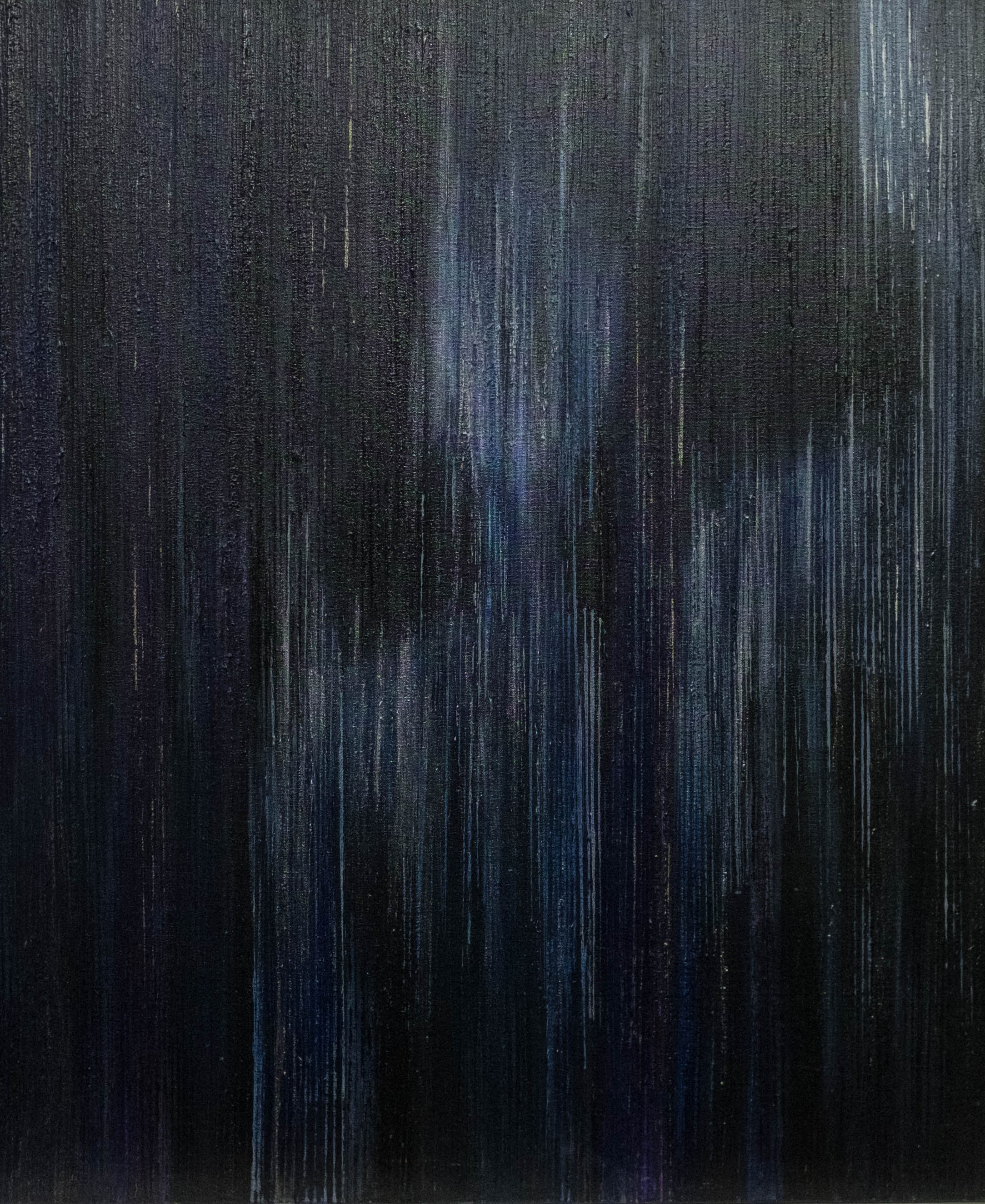 Emergence IV - Black/Blue/Purple -2015