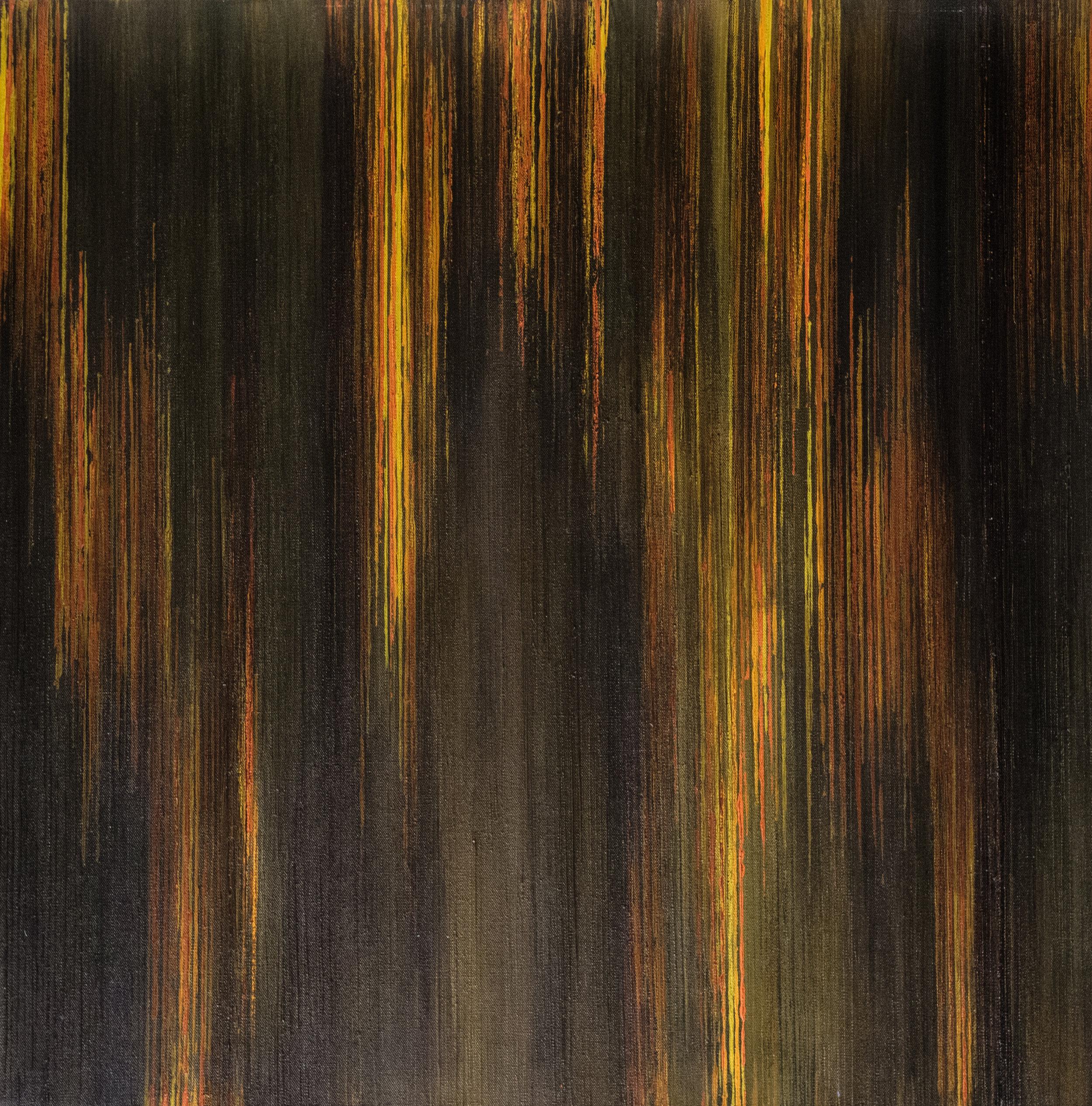 Linescape VI - Golden Brown/Orange 2016