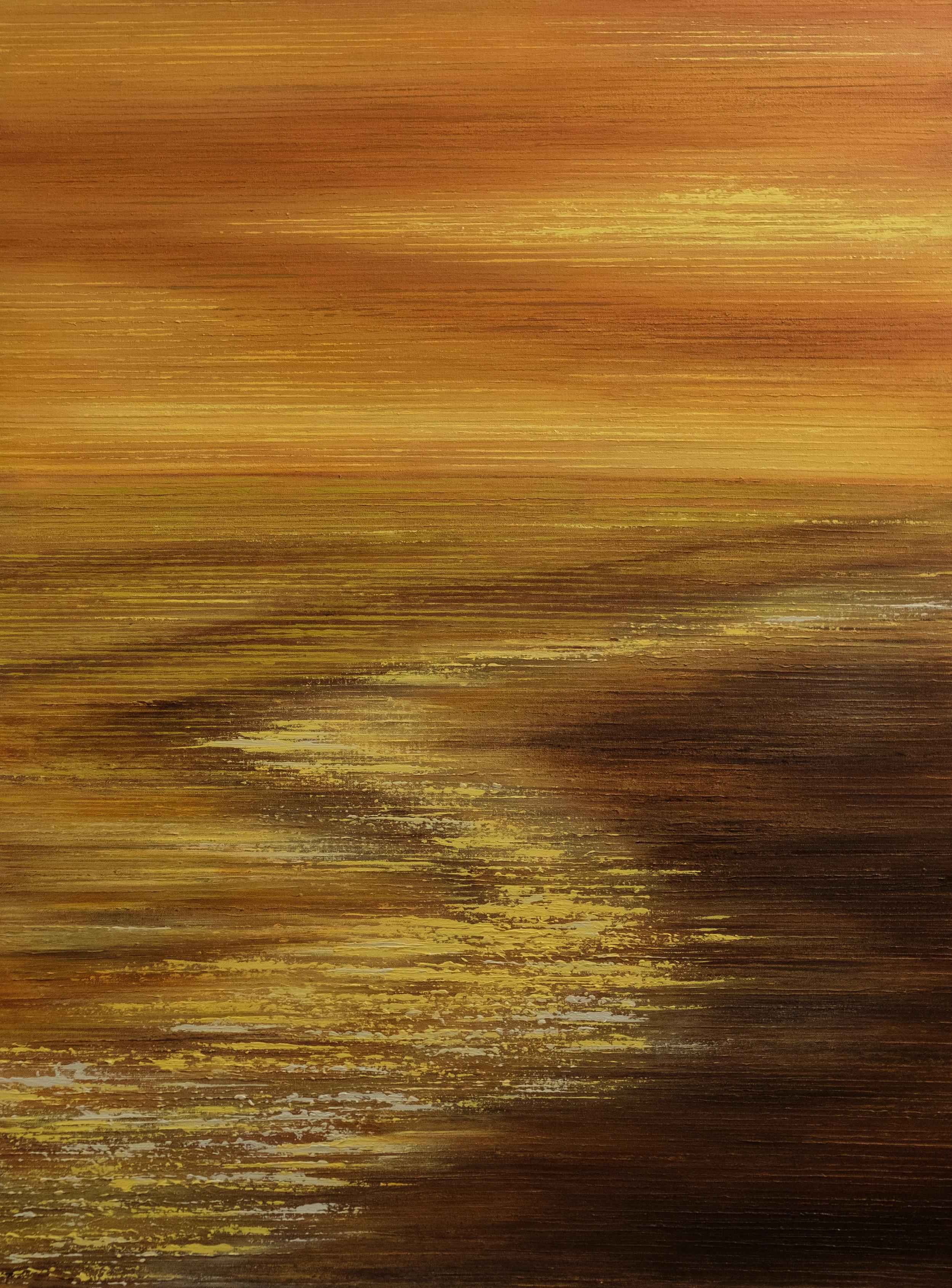 Seascape VI - Gold - 2015