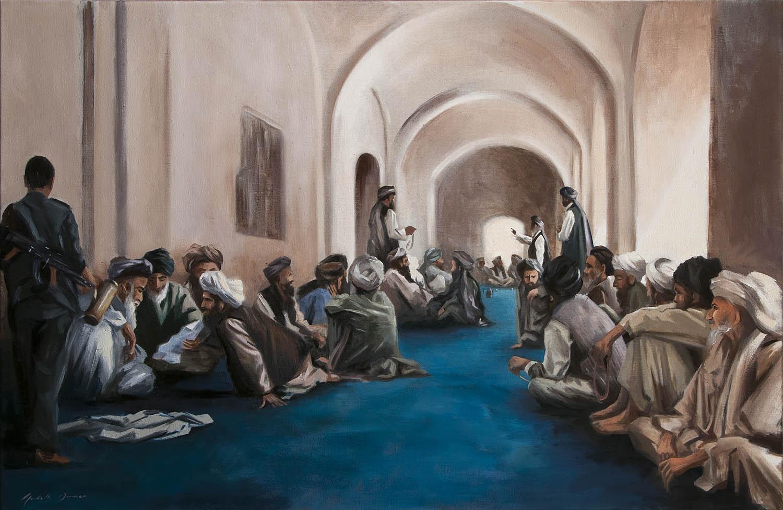 The Elders, Shura, Sangine, 2009, Afghanistan