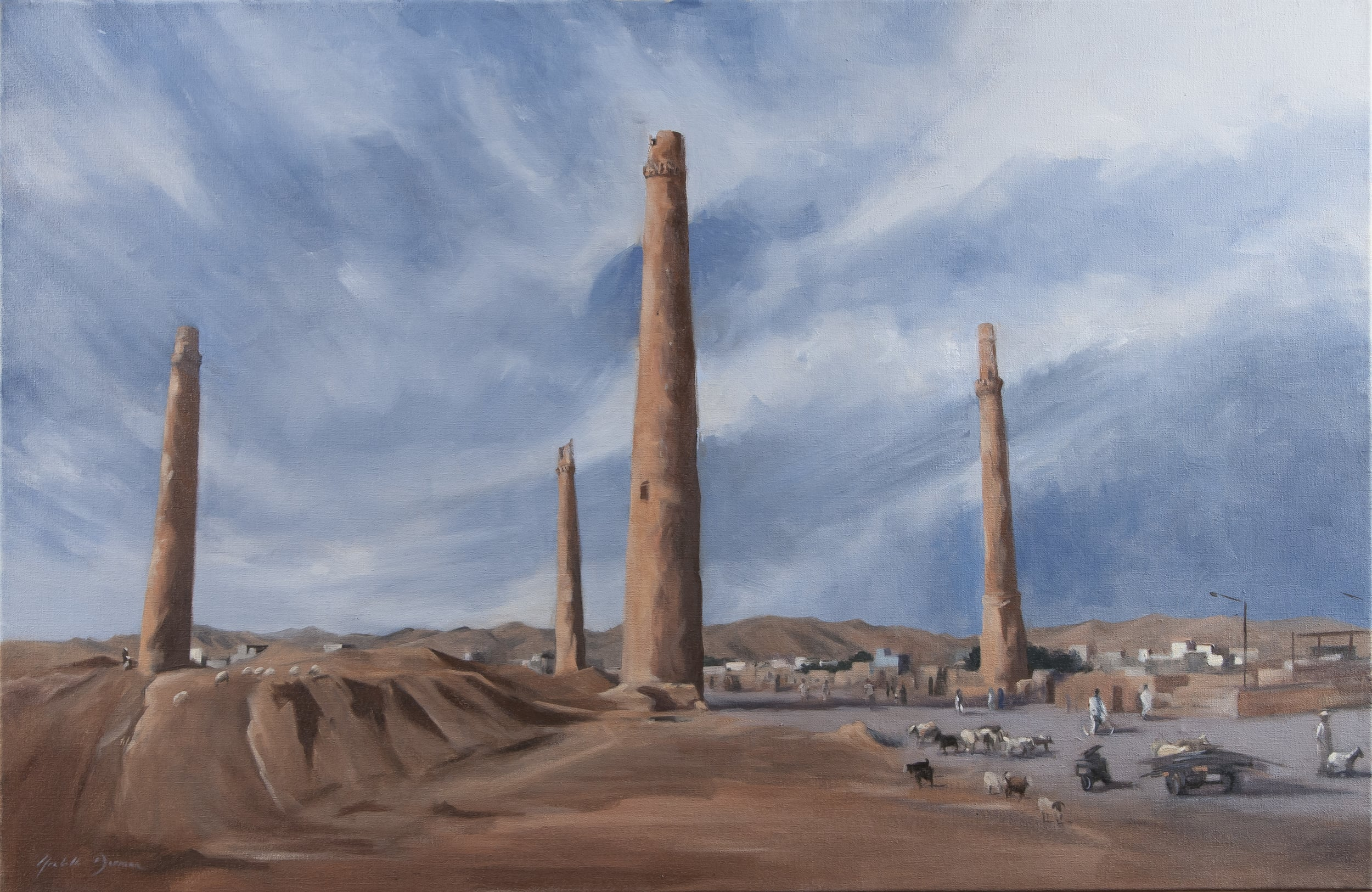 The Musallah Complex, Herat, 2010, Afghanistan